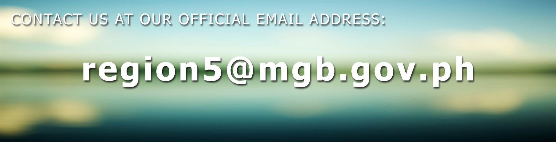 New Official Email Address