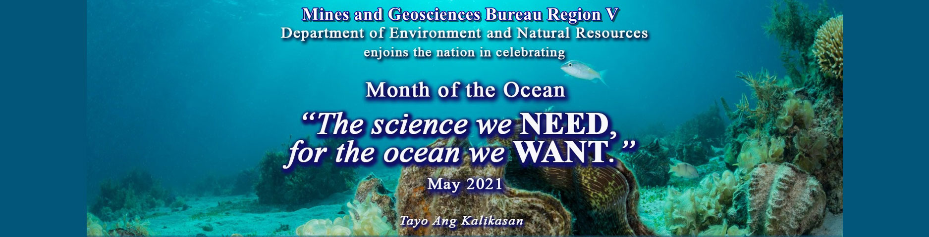 April 2021 Month of the Ocean