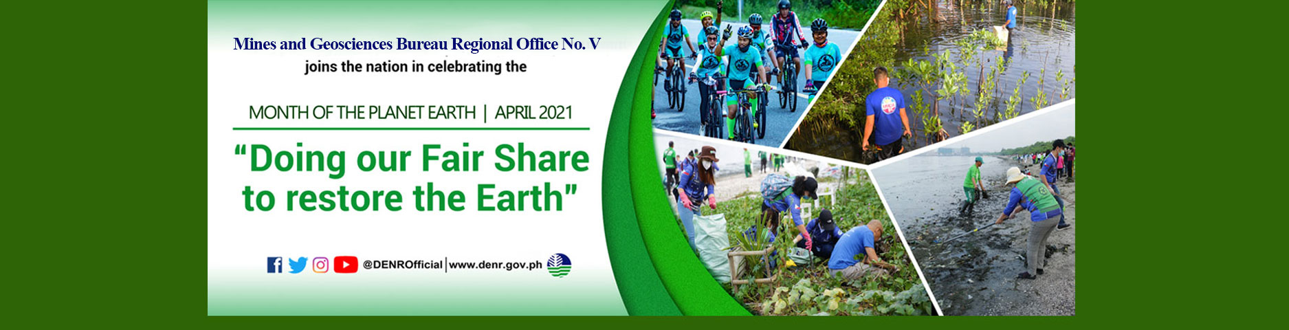April 2021 Month of the Planet Earth