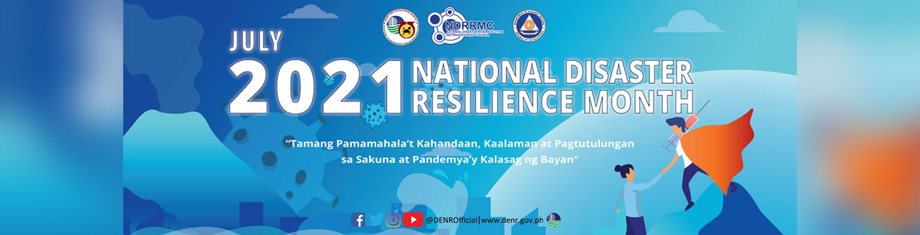 National Disaster Resilience Month July 2021